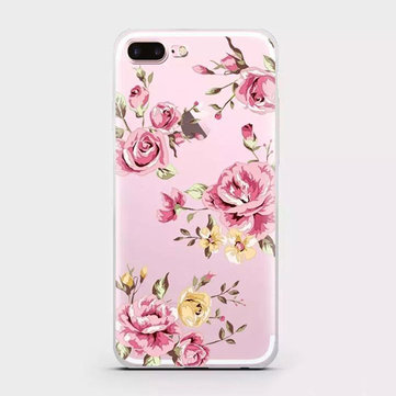10 Styles Printing Flower Princess Wedding Soft TPU Phone Cases For iphone 7 Plus 6 6s