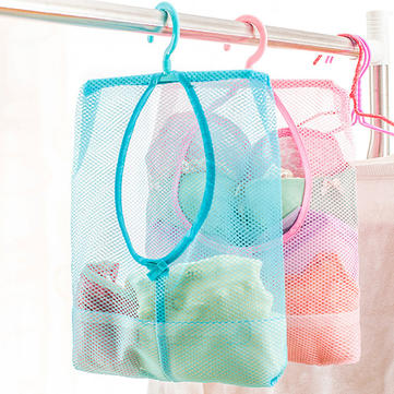 Underwear Socks Drying Bags Net Creative Home Wardrobe Small Objects Drying Basket