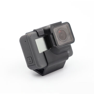 Action Camera Mount 30 Degree Inclined TPU FPV Camera Holder for GoPro Hero 5/6/7 FPV Racing Drone RC Aircraft