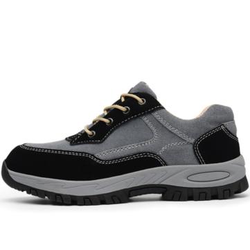 TENGOO Men's Safety Shoes Work Shoes Waterproof Non-Slip Steel Toe Running Hiking Sneakers