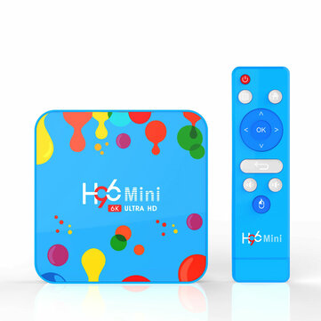 H96 Mini H6 Allwinner H6 4GB RAM 32GB ROM 5G WIFI bluetooth 4.0 Android 9.0 4K 6K TV Box