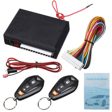 Car Keyless Access Central Remote Control Lock Alarm System