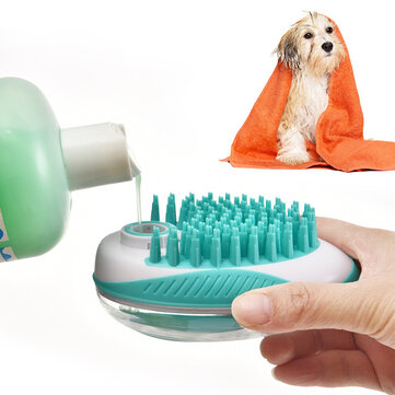 Multifunction Cleaning Comb Cat Soap Rubber Pet Bath Brush Dogs Grooming Tools Shampoo Dispenser From Xiaomi Youpin