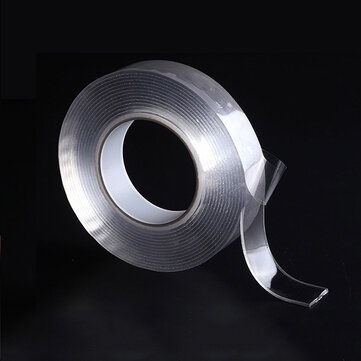 Reusable Transparent Double Sided Tape Can Washed Acrylic Fixing Tape Nano Tape No Trace Magic Car Double-sided Tape