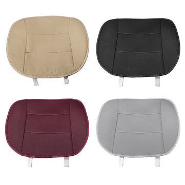 Single leather Universal Car Seat Cover Cushion without Backrest