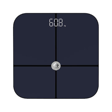Huawei bluetooth Intelligent Body Fat Scale APP Data Analysis Precision Electronic Scale LED Display Fitness Yoga Tools Scale Black