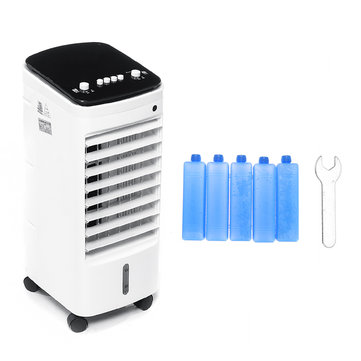 65W 3 Speeds Portable Air Conditioner Unit Conditioning Fan Cooling Dehumidifier