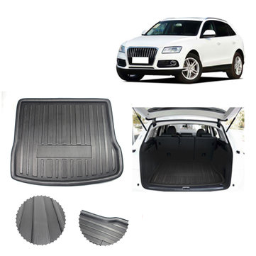 Car Rear Trunk Tray Boot Liner Cargo Mat Fit For AUDI Q5 SQ5 2008-2017