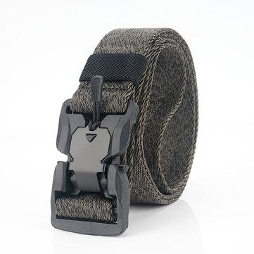 AWMN SS5 125cm Magnetic Buckle Belt Heavy Duty Polyester Tactical Belt