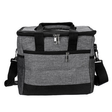 Outdoor Insulated Picnic Bag Camping Traveling Portable Lunch Bag Lunch Box Handbag