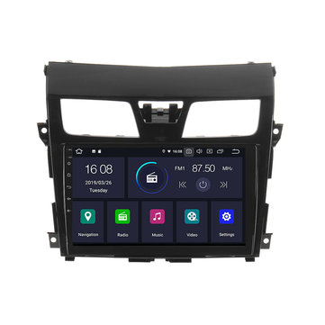 10.1 Inch 2 Din Car Radio Stereo MP5 Player Android 6.0 bluetooth GPS Navigation for Nissan Altima Teana 2013-2018