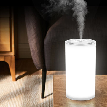 Blitzwolf® BW FUN2 Electric 400mL Touch Control Ultrasonic Humidifier With LED Light Home Desktop USB Air Purifier Mist Diffuser