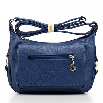 Women Genuine Leather Classic Casual Shoulder Bags
