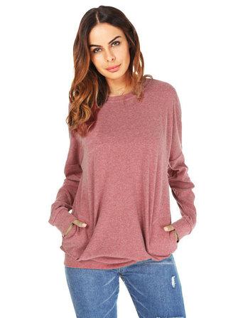 Plus Size Casual Women Basic Batwing Sleeve Shirts