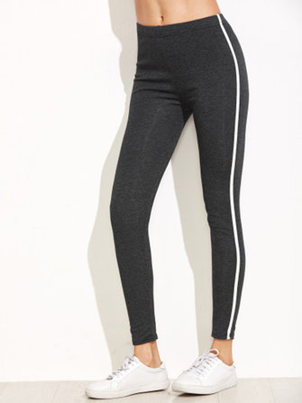 Women Slim High Waist Long Leggings