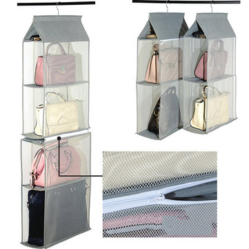 Women Men Clothing Storage Cabinet Bag Storage Built-in Bags
