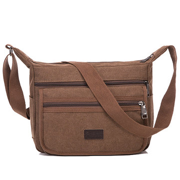 Men Women Large Capacity Travel Casual Shoulder Crossbody Bag for Ipad Mini