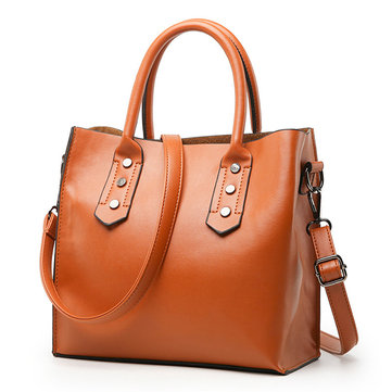 Women Retro Elegant Tote Bag Handbag Crossbody Bag Shoulder Bag