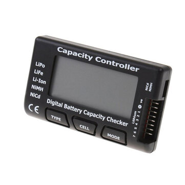 CellMeter-7 Battery Capacity Checker LiPo LiFe Li-ion NiMH NiCd