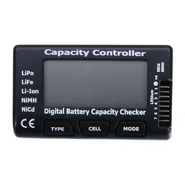 CellMeter-7 Battery Capacity Checker Tester with Balance