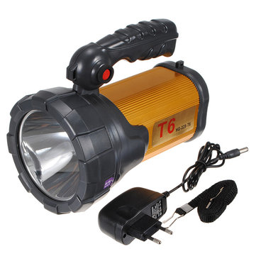 3000m T6 Digital Projector Rechargeable Long-range Miner Lamp Flashlight Portable Spotlight