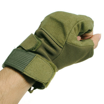 Ciclismo Hellstorm Tactical Glove Half Finger Arm Green