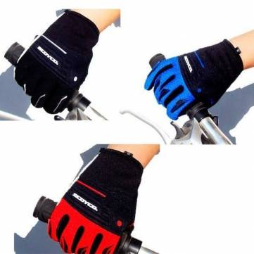 SCOYCO Bike Cycling Full Finger Guantes Outdooors Glove Multicolor