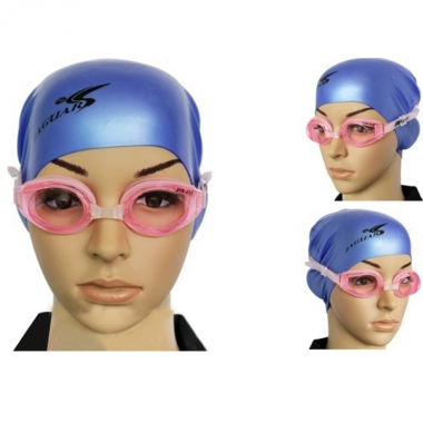 Silica Gel Waterproof Anti Fog Swimming Glasses Goggles For Adult