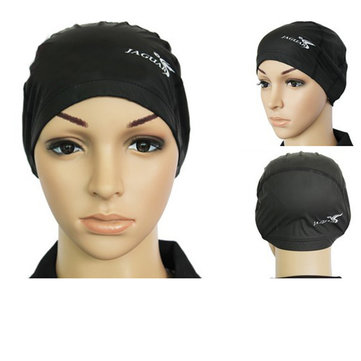 Color Optional Waterproof PU Material Swimming Cap For Adult