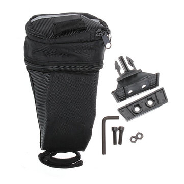 Waterproof Black Bike Saddle Bag Outdoor Cycling Back Seat Bag