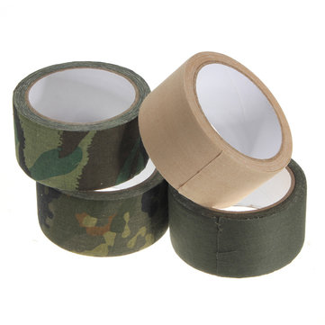 Camo Insulated Adhesive Tape Shooting Hunting Paintball 50mmx10m
