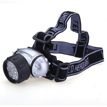 21 LED Waterproof Rechargeable Headlamp Outdoor Cycling Floodlight
