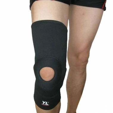 Strengthen Elastic Mesh Cloth Knee Guard Knee Pad