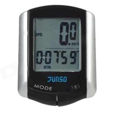 11 Function LCD Wire Bike Bicycle Computer Speedometer Odometer