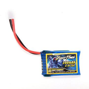 Potencia Gigante 3.7V 200mAh 25C Batería de Li-Po para Modelo RC