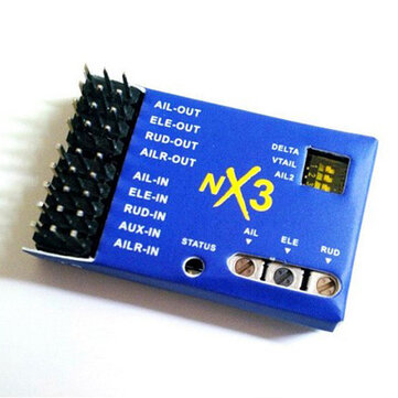 NX3 3D Flight Controller Gyroscope Balance For Fixed-wing Aircraft