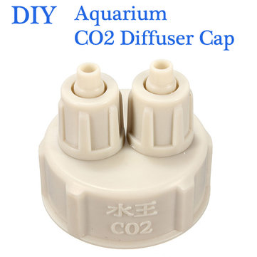Aquarium Bottle Cap for DIY Plants Co2 Diffuser Air Generator System Pump