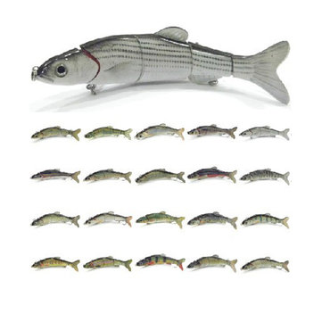16.5CM Fishing Bait Lure 5 Segments Big Size Fish Crankbait