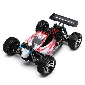 Wltoys A959 Rc Car 1/18 2.4Gh 4WD Off Road Buggy With Upgrade Metal Central Driving Shaft