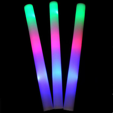1PCS LED Colorful Cheering Glow Flashing Foam Stick for Concert Party Decoration Toys