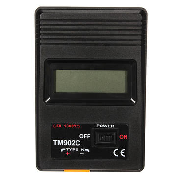 K Type Digital LCD Thermometer With Thermocouple Probe