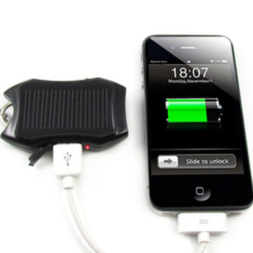 MD2198 New Solar Energy Charger With LED Lamp For Iphone/Ipod/MP3/4