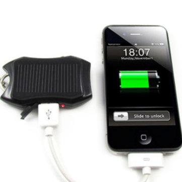md2198 nuovo caricatore a energia solare con LED Lampada per iphone / ipod / mp3 / 4
