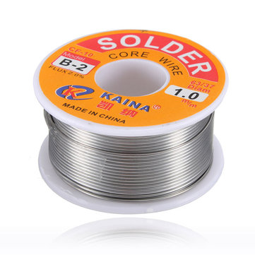 100g 6337 45FT 1mm Tin Lead Solder Flux Soldering Welding Iron Wire Reel
