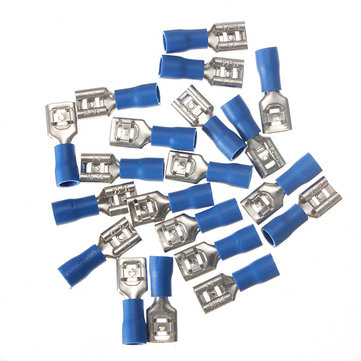 20pcs 1.5-2.5mm² Female Insulated Spade Wire Terminal Connector