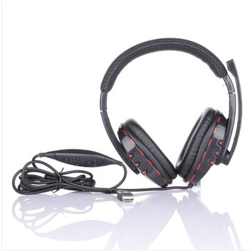 Wired Stereo Gamer Headphone Mic Sound For Sony Play Station PS3