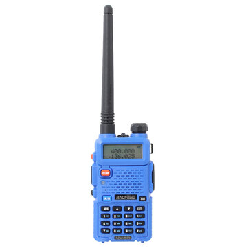 BAOFENG UV-5R Blue 136-174/400-480Mhz Dual Band UHF/VHF Walkie Talkie