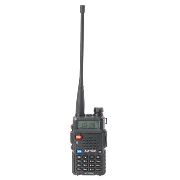 Zastone ZT-V8A Plus 136-174/400-520MHz Dual Band DTMF Walkie Talkie