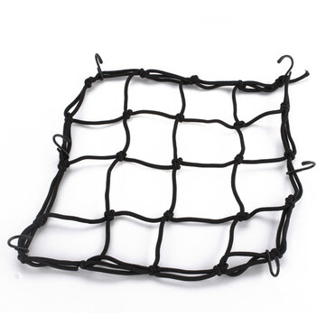 Motorcycle Helmet Cargo Luggage Bungie Mesh Web Net Black