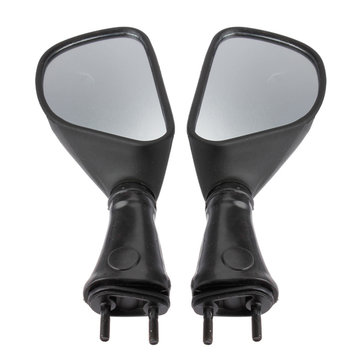 Motorcycle Rear View Mirrors Black For Kawasaki Ninja 650R
